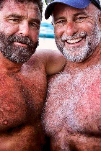 Hairy muscle bears