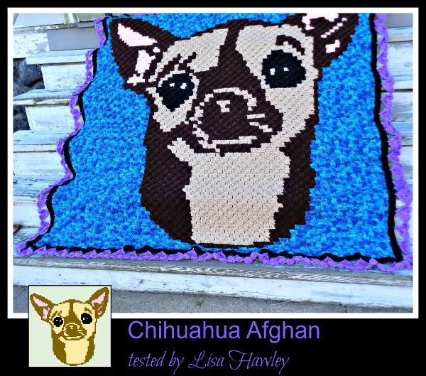 C2C Graph, Chihuahua afghan   Graph Patterns for Crochet   Pinterest