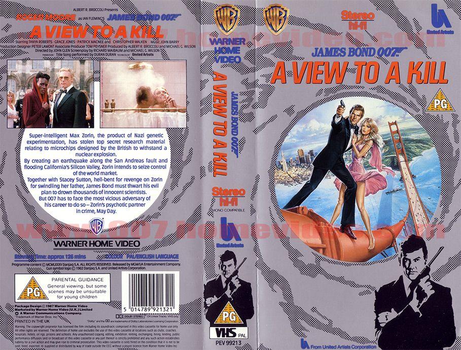 007 Home Video Videotape Vhs Beta Uk 25th Anniversary