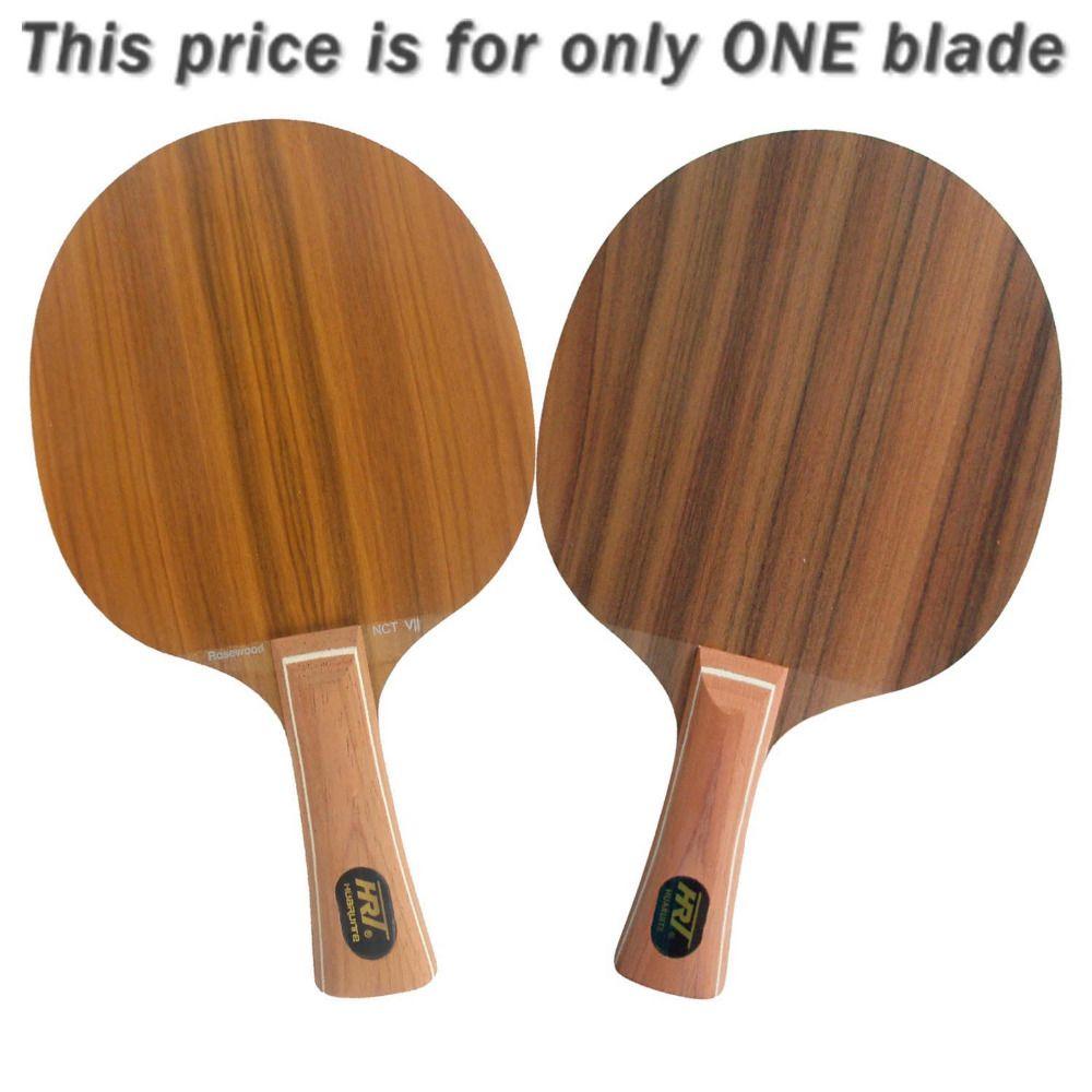 Original Hrt Rosewood Nct Vii Table Tennis Ping Pong Blade