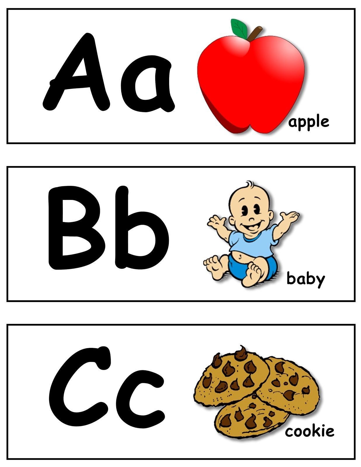 Free Abc Worksheets To Print In