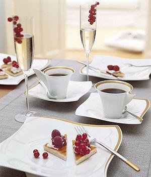villeroy boch new wave premium table setting. Black Bedroom Furniture Sets. Home Design Ideas