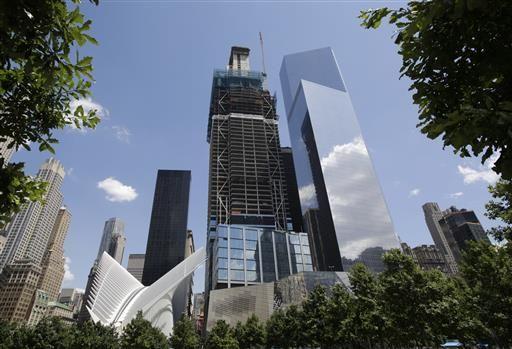 World Trade Center skyscrapers: 3 up, 1 to go - WFMJ com