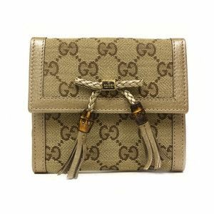 Gucci Bamboo Tassel French Leather Wallet 269984