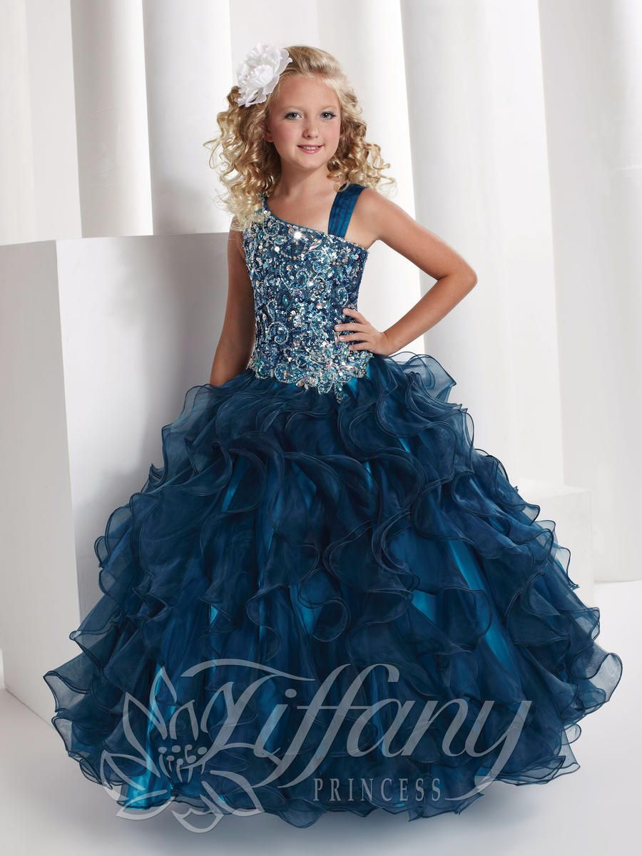 Girls Pageant Dresses by Tiffany Princess 13332 | Tori-adore ...