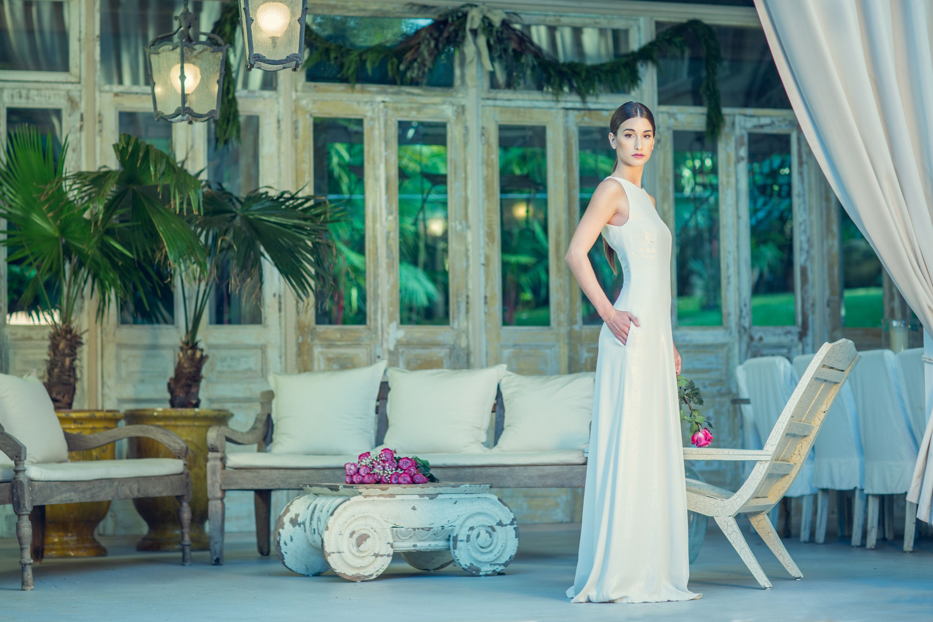 Hawaiian wedding dress  The Lydie gown    Joelle Perry   RTW at the Haiku Mill