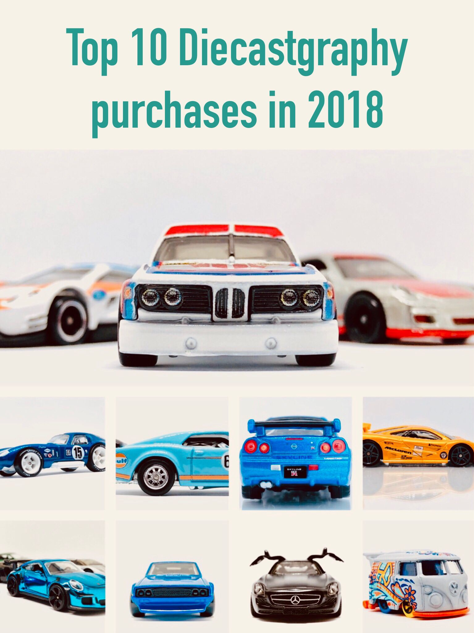 Top 10 Diecastgraphy Purchases In 2018 Toyota Supra Toyota