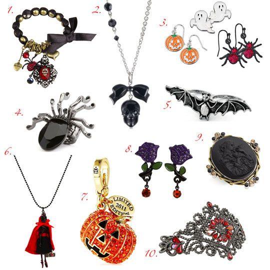 Halloween 101: Jewelry | Halloween | Pinterest | Halloween jewelry