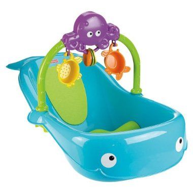 Fisher-Price Whale of a Tub Bathtub Set