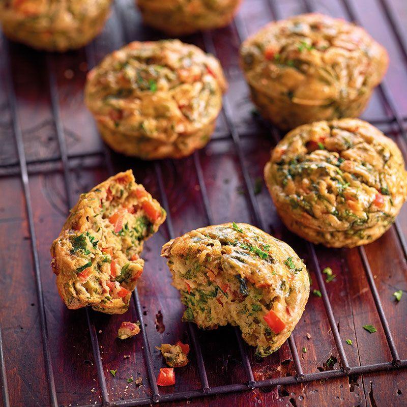 Kräuter-Ei-Muffins mit Gemüse Rezept | WW Deutschland