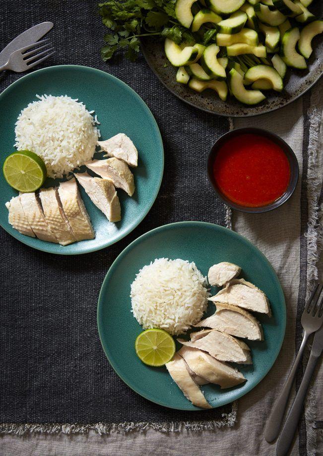 Hainanese Chicken Rice  Recipe  Hainanese Chicken -6997