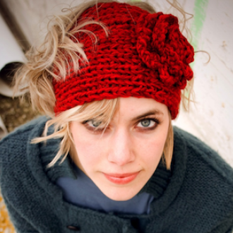 Ashley Head Band knit pattern | YouCanMakeThis.com