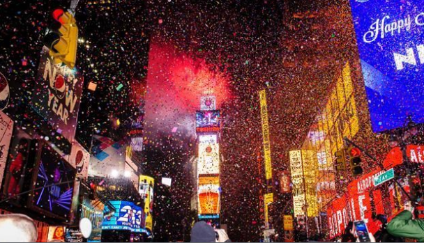 Happy New Years Eve traditions in USA Happy New Year