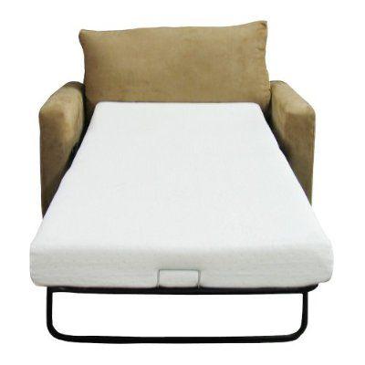 Clic Brands Memory Foam Sofa Mattress Replacement Bed Twin Size