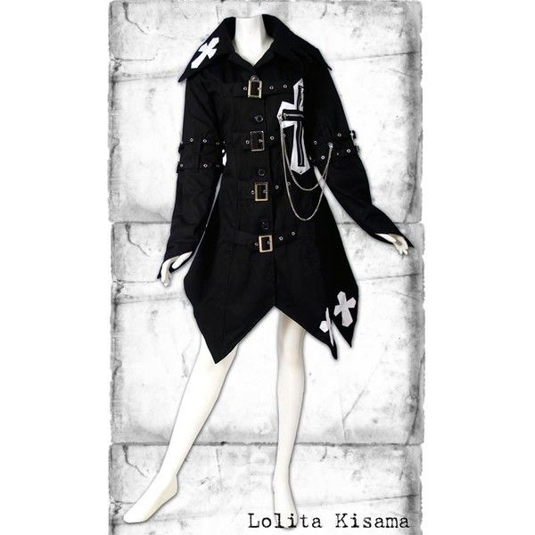 Lolita Kisama ($120) ❤ liked on Polyvore featuring dresses and jackets