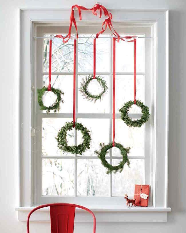 Einzigartige Fenster Weihnachts Deko: Tipps zum Dekorieren der ...