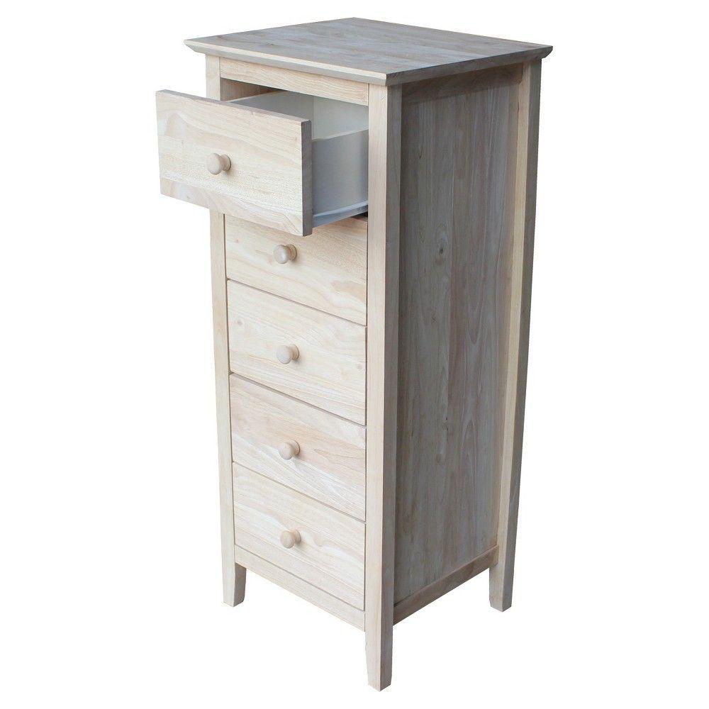 Dresser Unfinished International Concepts Wood