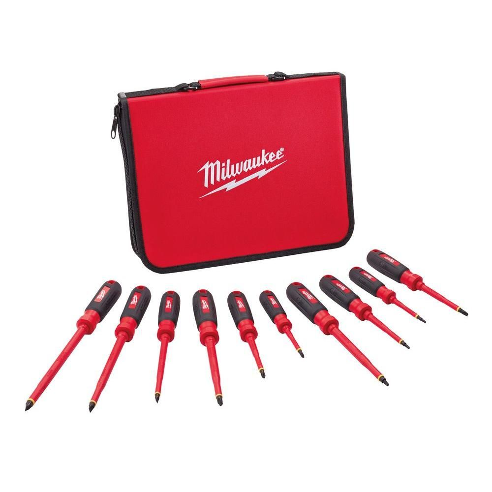 Milwaukee 48-22-2202 3-Piece Insulated Screwdriver Set