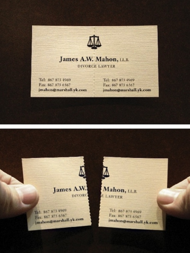 50 incredible business cards screen shot business cards and funny pictures about a divorce lawyers business card oh and cool pics about a divorce lawyers business card also a divorce lawyers business card reheart Choice Image