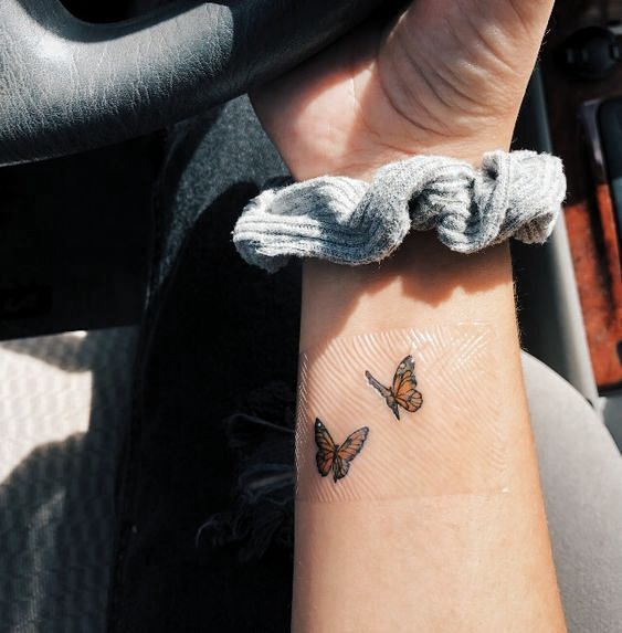 Butterfly Tattoo Arm ` Butterfly Tattoo - small tattoo with meaning