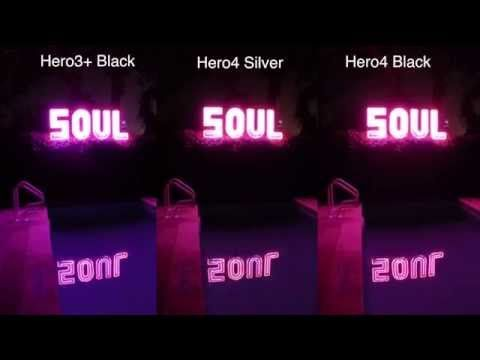 Hero4 Silver / Black 3+ Black Low Light Comparison - GoPro Tip #381 & Hero4 Silver / Black 3+ Black Low Light Comparison - GoPro Tip ... azcodes.com