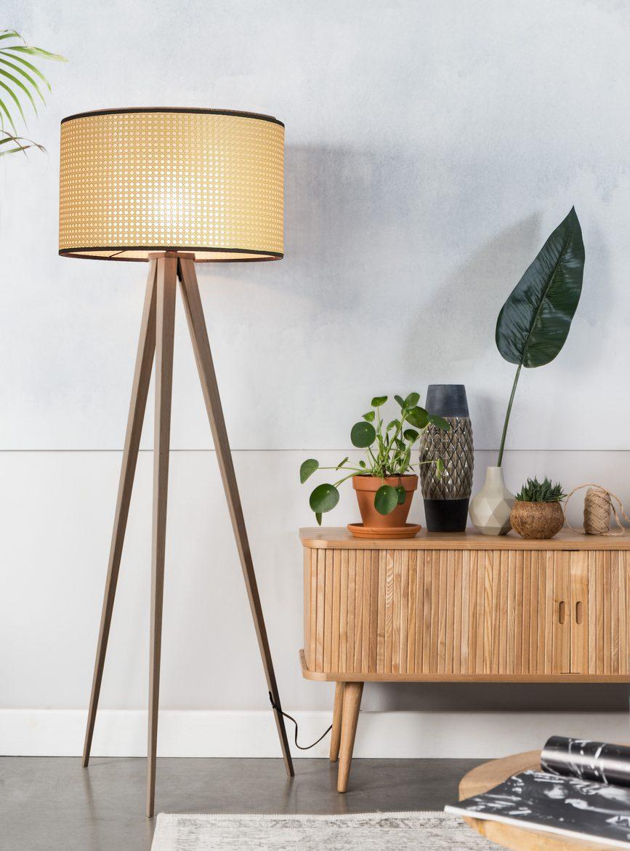 Tripod Webbing Floor Lamp In 2020 Floor Lamp Lamp Tripod Floor Lamps