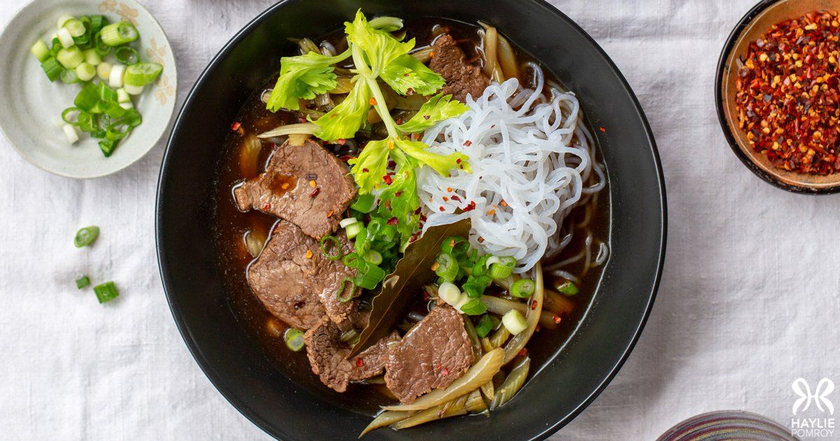 Thai Beef Noodle Soup Beef Noodles Beef Noodle Soup Fast