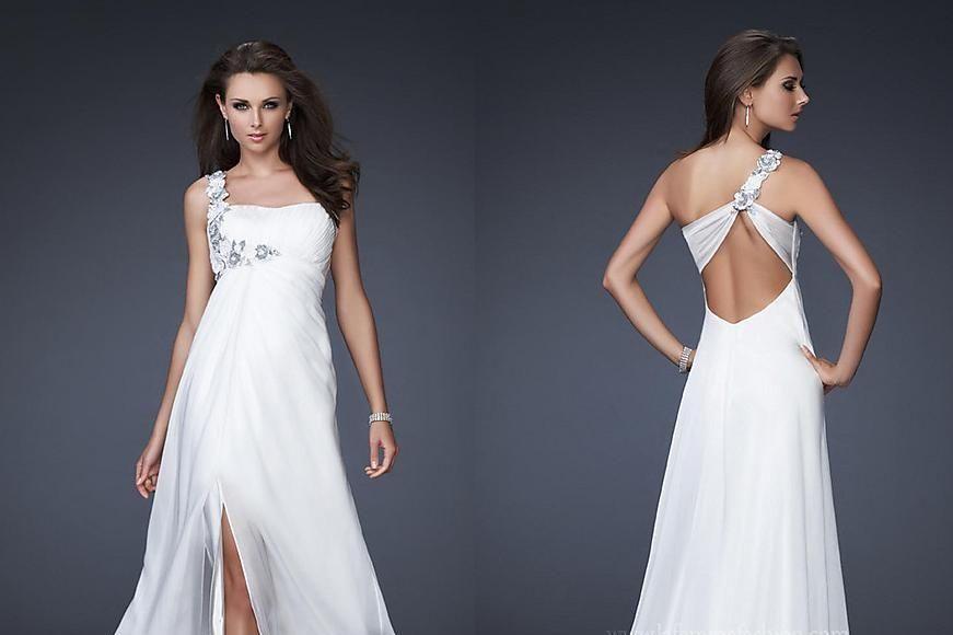 adoro a parte de trás deste vestido..