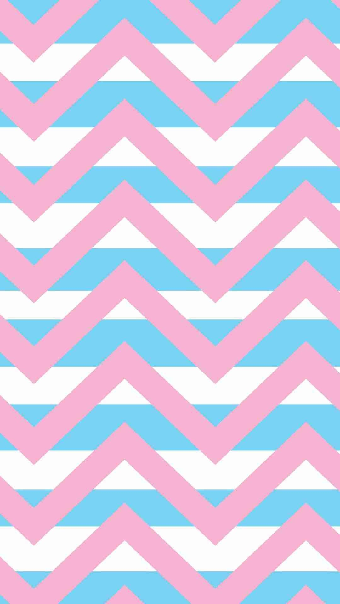 Iphone 6 plus wallpaper that you should know fashion blog pastel chevron pink and blue iphone 6 plus wallpaper for girls pretty striped pattern voltagebd Images