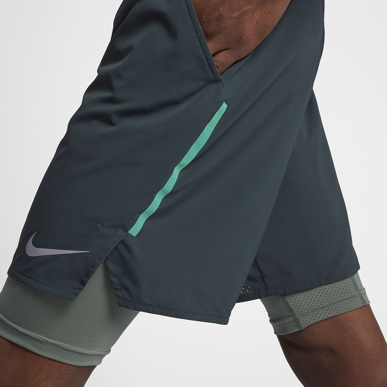Nike Flex Stride Men s 2-In-1 Running Shorts - XL  7555b3c43ffee