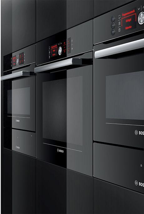 bosch-color-glass-black-built-in-kitchen-appliances   APPLIANCES ...