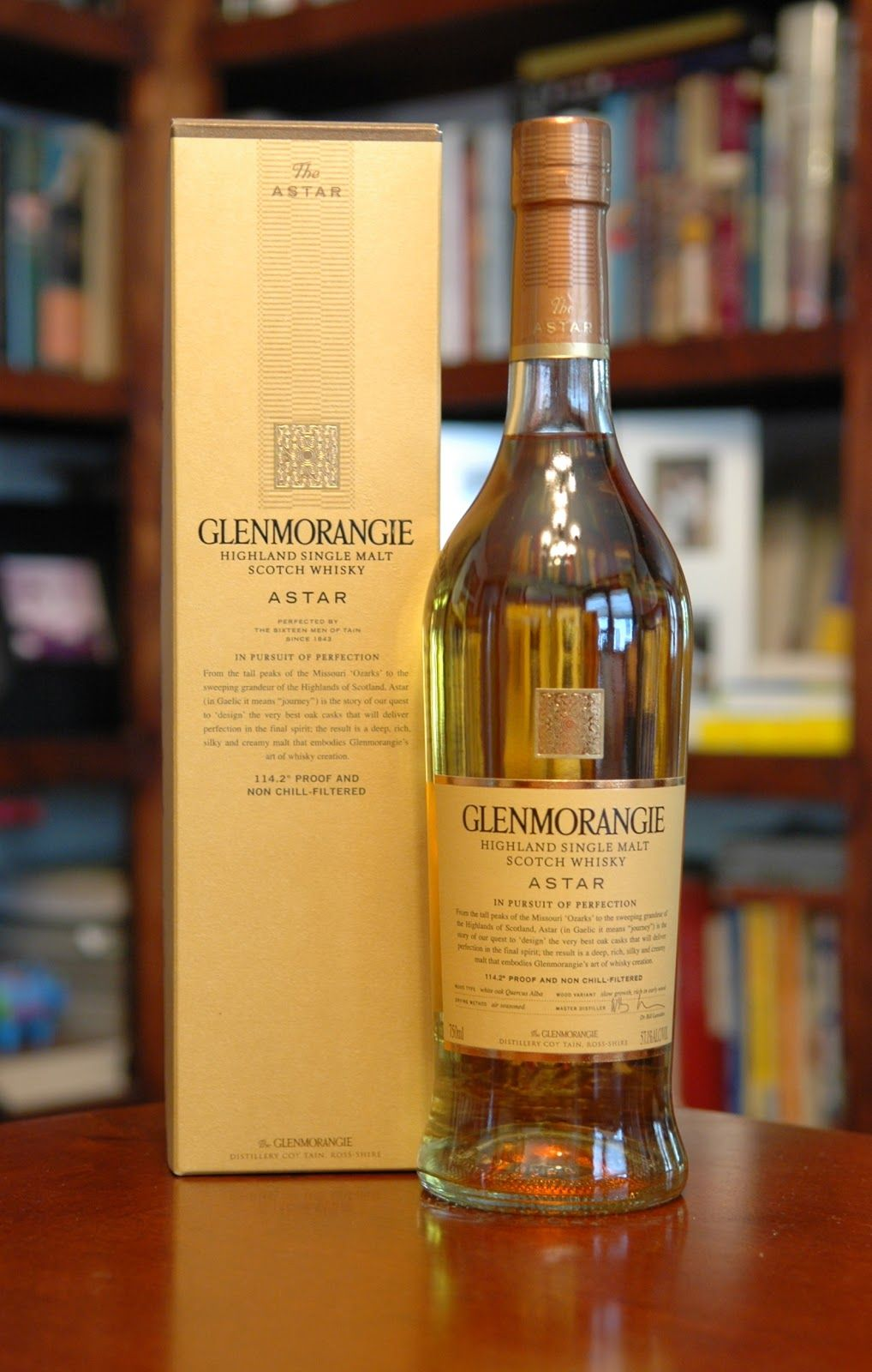 The Glenmorangie Astar Single Malt Scotch Whisky
