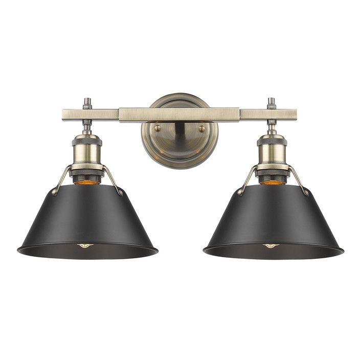 Weatherford 2-Light Vanity Light & Reviews | AllModern
