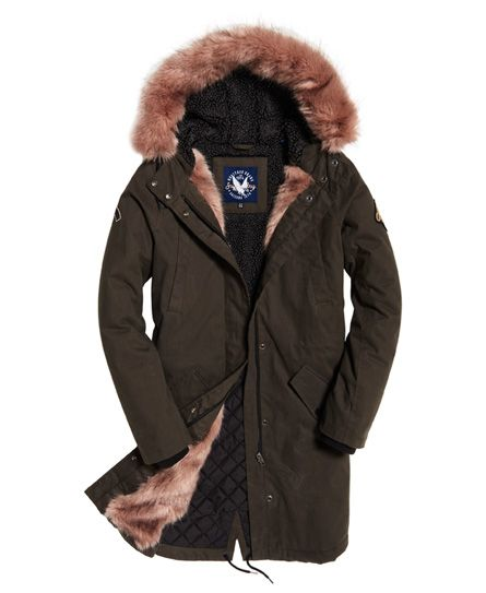 Superdry Frankie Faux Fur Lined Parka Jacket   Winter coats ... 2c33390ab4