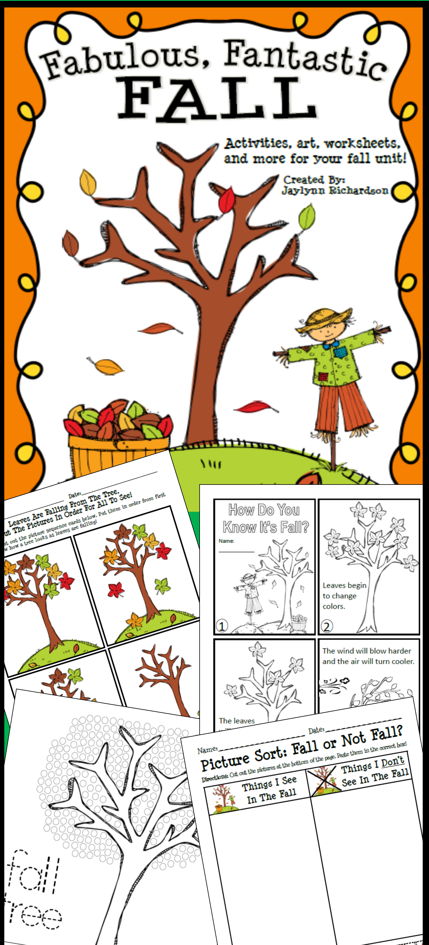Fabulous Fantastic Fall Activities Art Worksheets