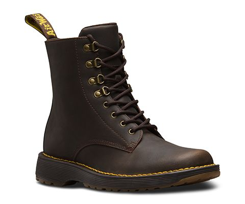 Dr. Martens WINCOX - Cowboy/Biker boots - black smooth 75YU8