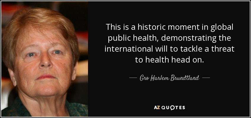Public health quotes
