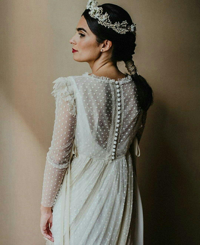 1930s style wedding dresses  Más novias así de espectaculares vestido inunezdesign  foto