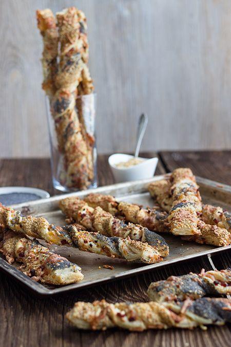 Knusperstangen #bakedmacandcheeserecipe