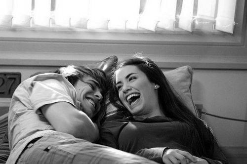 Laughter is the best. Seriously the best. I can't wait to find my Love and spend every day laughing alongside him.