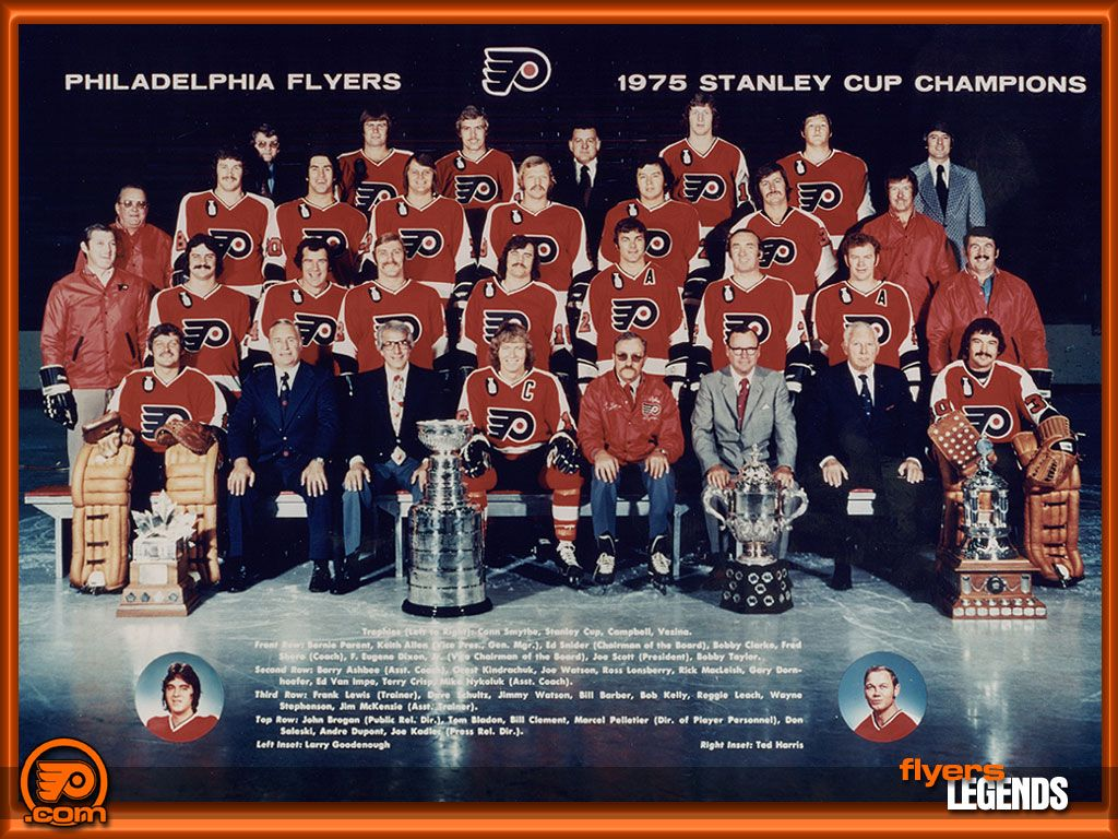 The 1975 Stanley Cup Final championship series was played