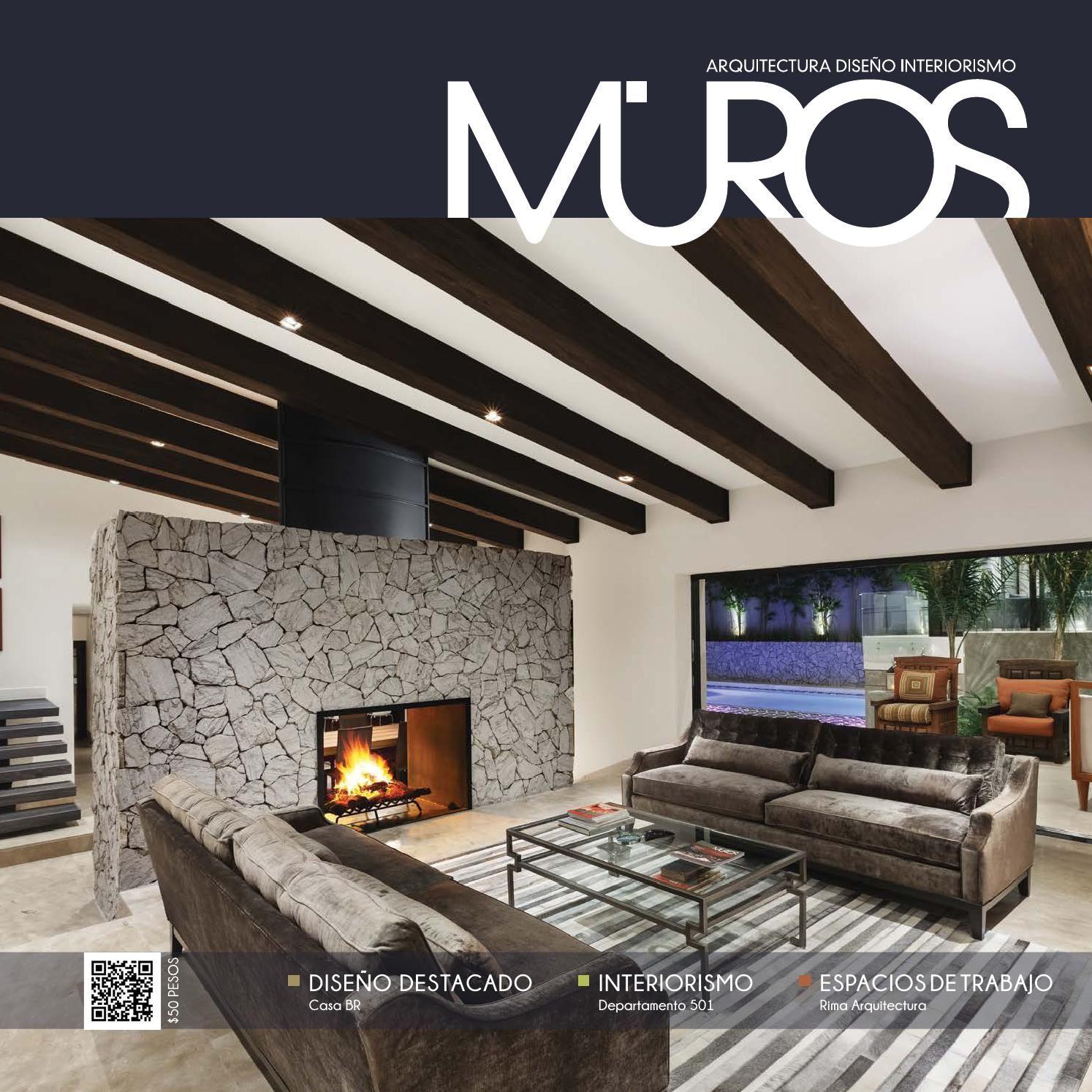 edicin revista muros diseo with las mejores revistas de decoracion de interiores