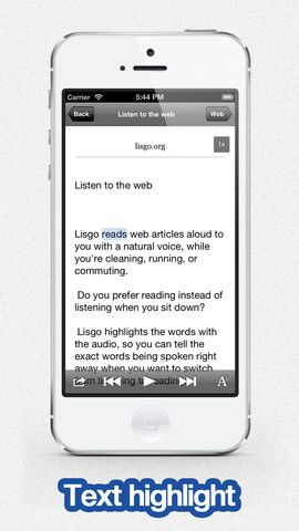 Lisgo Text To Speech Voice Reader For Web News (0.00