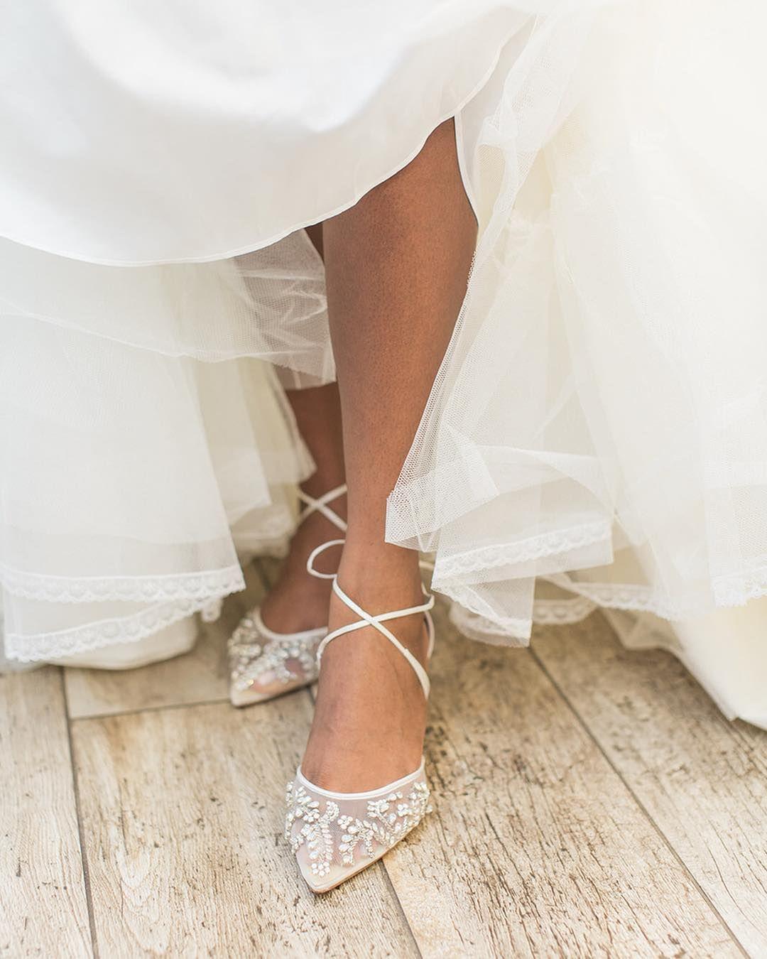 Pin By Lauren Saltz On Wedding Dress Romantic Bridal Shoes