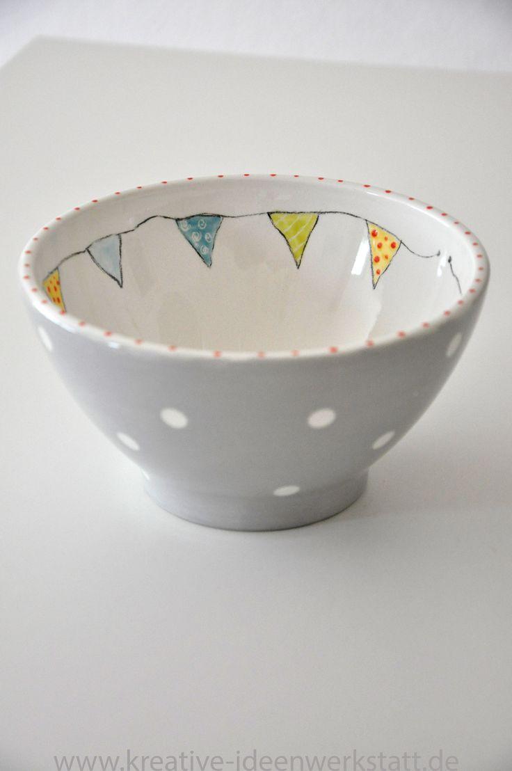 Jeder kann Keramik bemalen, man muss es nur wollen. Ich helfe euch bei der Ideen... #potterypaintingideas