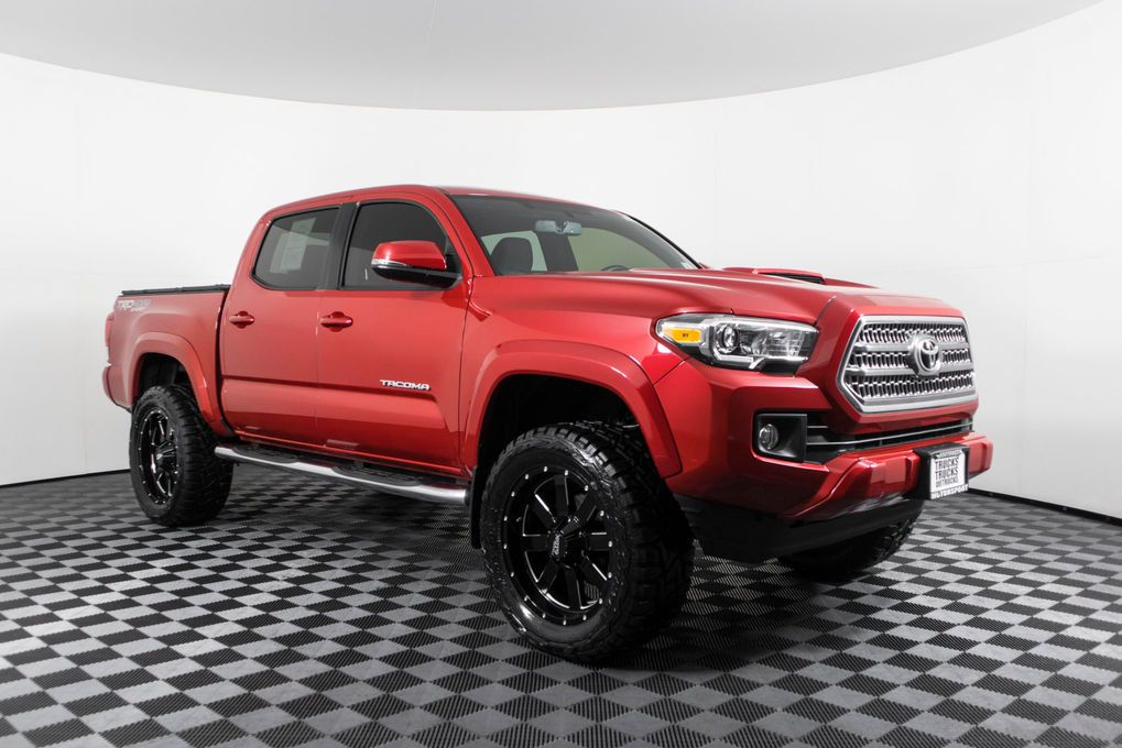 Used Lifted 2016 Toyota TRD Sport 4x4 Truck For