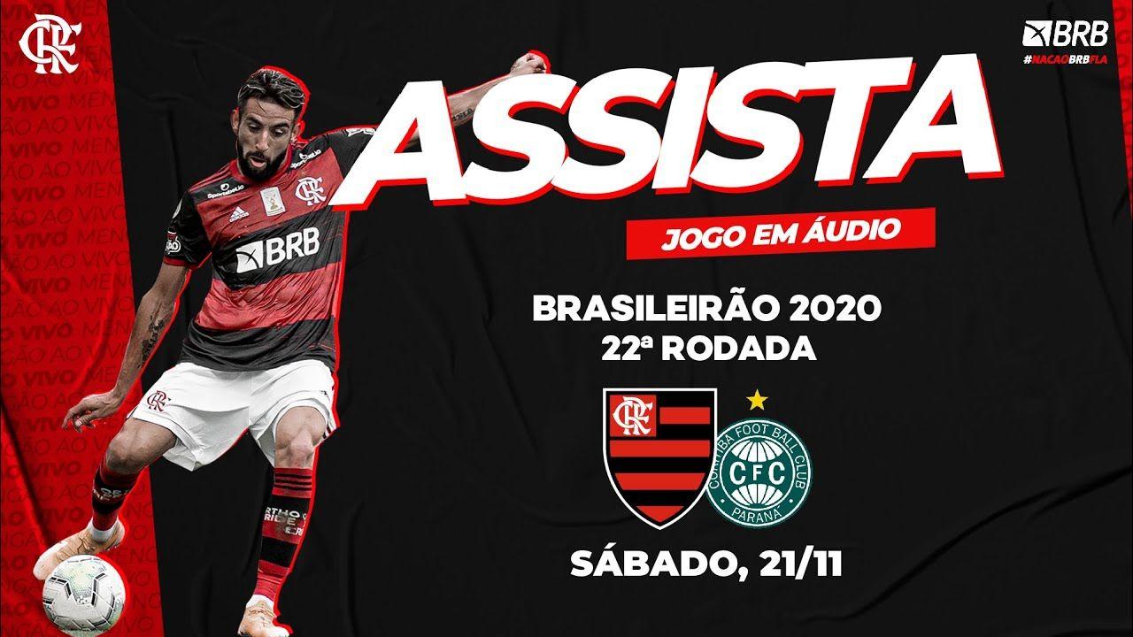 Flamengo X Coritiba Ao Vivo Na Fla Tv Brasileiro 2020 Tv Brasileira Coritiba Assistir Jogo