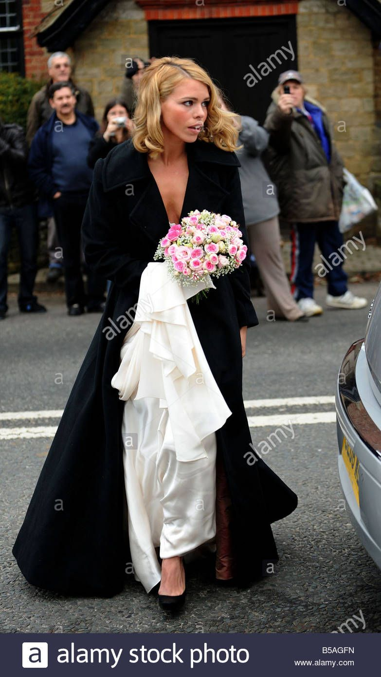 Download this stock image Wedding of Billie Piper and
