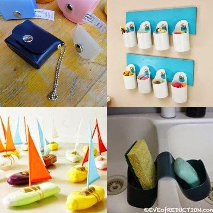 Reciclar botellas de shampoo google search reciclado - Manualidades con envases ...