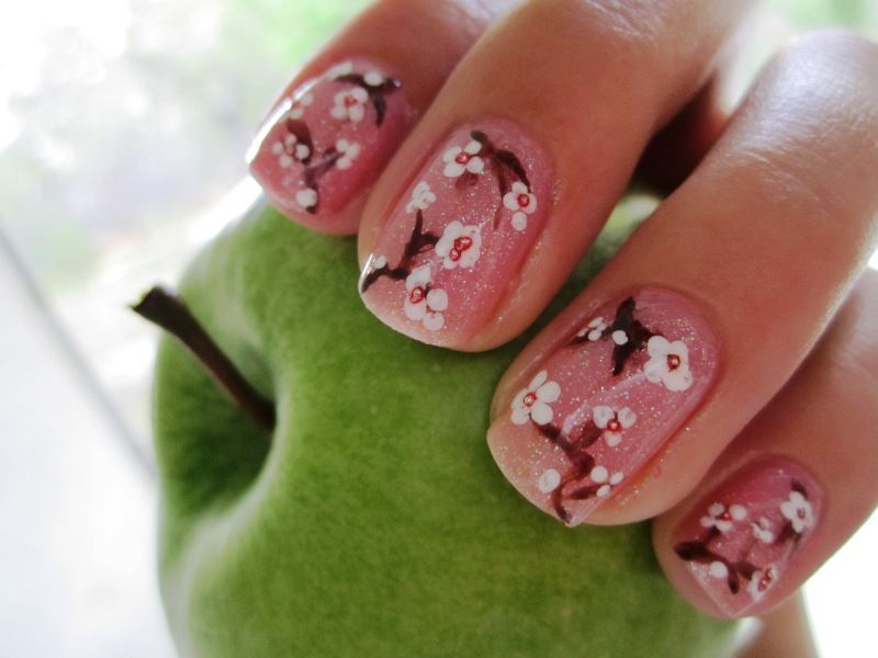 Cherry Blossoms | Cherry Blossoms | Pinterest | Uñas pintadas y Pintar